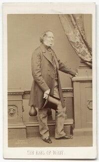 Edward Stanley, 14th Earl of Derby, by John Jabez Edwin Mayall, 1861 - NPG x134659 - © National Portrait Gallery, London
