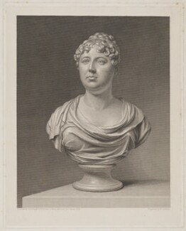 Mary (née Kent), Lady Thorold, by William Skelton, after  George Francis Joseph, after  Peter Rouw, early 19th century - NPG D40317 - © National Portrait Gallery, London
