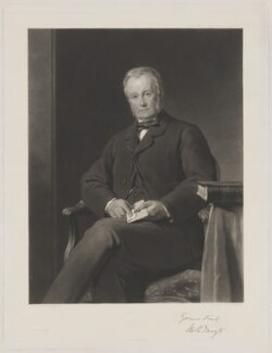Mortimer George Thoyts, by Thomas Oldham Barlow, printed by  Thomas Brooker, after  John Callcott Horsley - NPG D40319