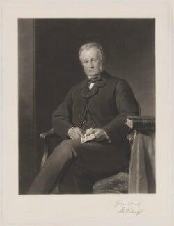 Mortimer George Thoyts, by Thomas Oldham Barlow, printed by  Thomas Brooker, after  John Callcott Horsley, (1869) - NPG D40319 - © National Portrait Gallery, London
