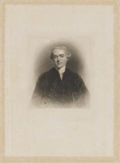 Henry Thrale, by Edward Scriven, after  Sir Joshua Reynolds - NPG D40320