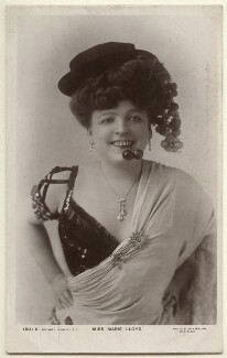 Marie Lloyd, by Langfier Ltd, published by  Rotary Photographic Co Ltd - NPG Ax160001