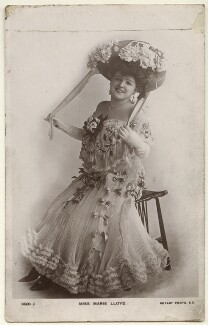 Marie Lloyd, published by Rotary Photographic Co Ltd - NPG Ax160004