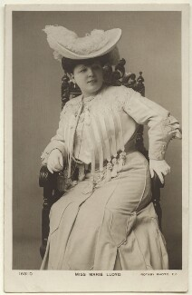 Marie Lloyd, published by Rotary Photographic Co Ltd - NPG Ax160008