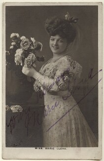 Marie Lloyd, by Alfred Ellis & Walery - NPG Ax160010