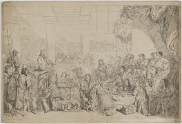 The Trial of William Russell, Lord Russell 1683, by Sir George Hayter - NPG D39937