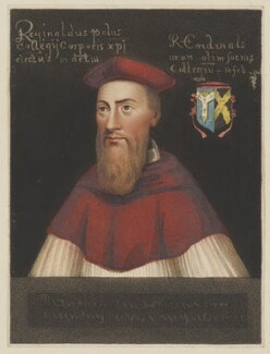 Reginald Pole, by William Maddocks, published by  W. Herbert, and published by  Edward Wedlake Brayley, after  Unknown artist - NPG D40294