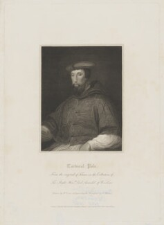 Reginald Pole, by Charles Picart, published by  Lackington, Allen & Co, and published by  Longman, Hurst, Rees, Orme & Brown, after  Harold Crease, after  Unknown artist - NPG D40296