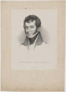 Frederick Polhill, by Samuel Hollings Cecil, published by  William Day - NPG D40298