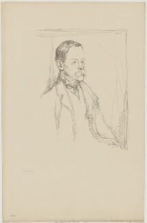 Sir Frederick Pollock, 3rd Bt, by William Rothenstein - NPG D40299