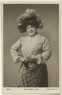 Marie Lloyd, published by Rotary Photographic Co Ltd - NPG Ax160012