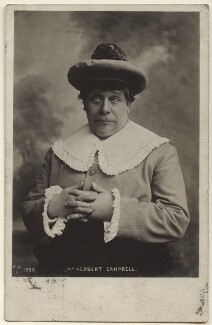 Herbert Campbell as Jack in 'Mother Goose', by Unknown photographer - NPG Ax160016