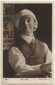 Dan Leno, published by Rotary Photographic Co Ltd - NPG Ax160017