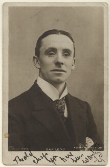 Dan Leno, by William Davey, published by  Rotary Photographic Co Ltd - NPG Ax160018