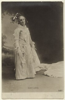 Dan Leno as Dame Trot in 'Jack and Beanstalk', published by The Rotophot Postcard - NPG Ax160020