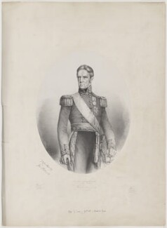 Sir George Pollock, 1st Bt, by G.H. Ford, printed by  Ford & George, published by  Smith, Elder & Co, and published by  Paul and Dominic Colnaghi & Co - NPG D40335