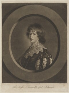 Alexander Hume, Lord Polwarth, by John Raphael Smith, after  Anne Forbes - NPG D40337