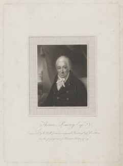 Thomas Pomeroy, by William Holl Sr, after  Charles (Cantelowe, Cantlo) Bestland - NPG D40338