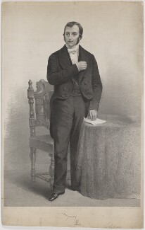 J. Thwailes, by James Henry Lynch, after and published by  James Mitchell Cox, printed by  Day & Son - NPG D40328