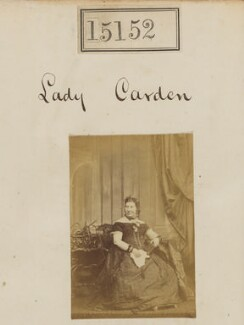 Pamela Elizabeth Edith (née Andrews), Lady Carden, by Camille Silvy - NPG Ax63395