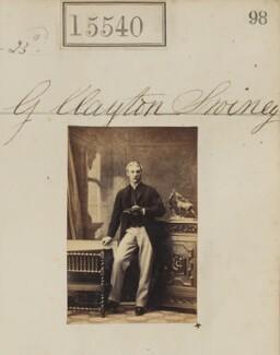 George Clayton Swiney, by Camille Silvy - NPG Ax63472