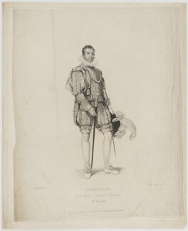 William Matthew Thiselton, by Peltro William Tomkins, published by  Sir George Naylor, after  Philip Francis Stephanoff - NPG D40406