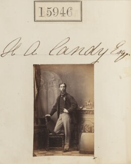 Henry Augustus Candy, by Camille Silvy - NPG Ax63876