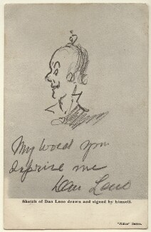 Sketch of Dan Leno, published by The Philco Publishing Co, after  Dan Leno - NPG Ax160024