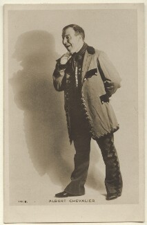 Albert Chevalier, published by Rotary Photographic Co Ltd - NPG Ax160028