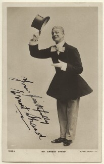 Ernest Shand, by The Hana Studios Ltd, published by  Rotary Photographic Co Ltd - NPG Ax160029
