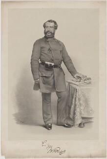 Sir William Howard Russell, by Thomas Herbert Maguire, printed by  M & N Hanhart - NPG D39944