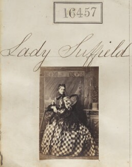 Cecilia Annetta (née Baring), Lady Suffield, by Camille Silvy - NPG Ax64369