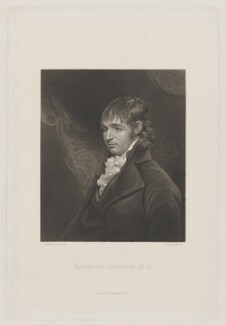 Richard Porson, by Henry Adlard, published by  Longman & Co, after  John Hoppner - NPG D40361