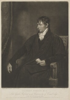 Richard Porson, by Charles Turner, published by  R. Harradan & Son, after  Thomas Kirkby - NPG D40362
