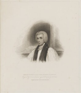 Beilby Porteus, by Charles Picart, published by  T. Cadell & W. Davies, after  Henry Edridge - NPG D40367