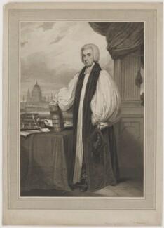 Beilby Porteus, by Charles Picart, after  Henry Edridge - NPG D40369