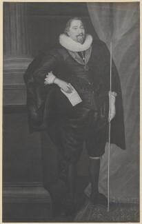 Richard Weston, 1st Earl of Portland, after Sir Anthony van Dyck - NPG D40375