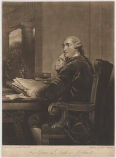 William Henry Cavendish Bentinck, 3rd Duke of Portland, by John Murphy, after  Sir Joshua Reynolds - NPG D40377