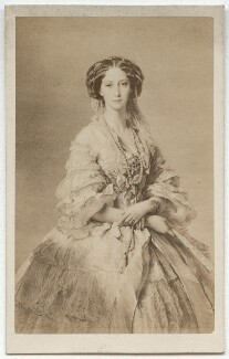 Maria Alexandrovna, Empress of Russia, by Émile Desmaisons, after  Franz Xaver Winterhalter - NPG x134669