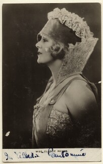 Clarice Mayne in 'Aladdin', by Unknown photographer - NPG Ax160036
