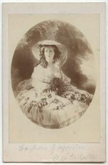 Eugénie, Empress of France, by Goupil & Co, after  Franz Xaver Winterhalter - NPG x134670