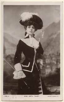 Vesta Tilley, published by Rotary Photographic Co Ltd - NPG Ax160046