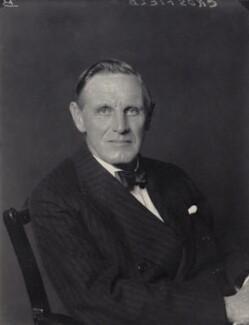 Sir Arthur Henry Crosfield, 1st Bt, by Walter Stoneman - NPG x166901