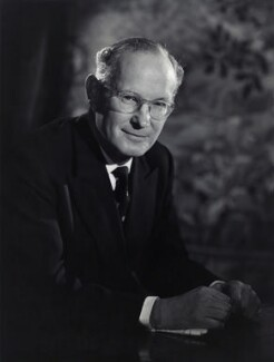 Sir Colin Tradescant Crowe, by Walter Bird - NPG x166908