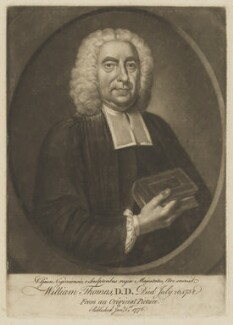 William Thomas, by Valentine Green, after  George Powle - NPG D40415
