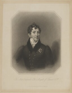 William O'Brien, 2nd Marquess of Thomond, by Samuel Freeman, published by  James Fraser, after  Titani - NPG D40417
