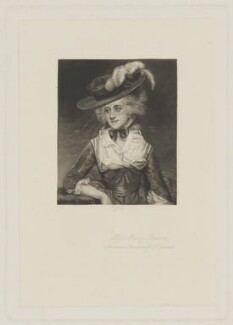 Mary (née Palmer), Marchioness of Thomond, by Richard Josey, after  Sir Joshua Reynolds - NPG D40418