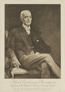 Alfred Corderoy Thompson, after Charles Henry Sims - NPG D40420