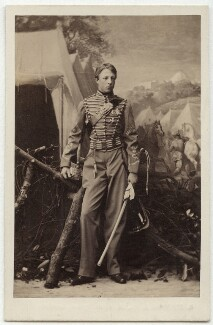 Louis Philippe Marie Ferdinand Gaston d'Orléans, Prince Imperial-Consort of Brazil, Count d'Eu, by Camille Silvy - NPG x134676