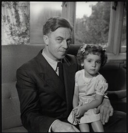 Cecil Day-Lewis; Tamasin Day-Lewis, by Ida Kar, late 1950s - NPG x134682 - © National Portrait Gallery, London